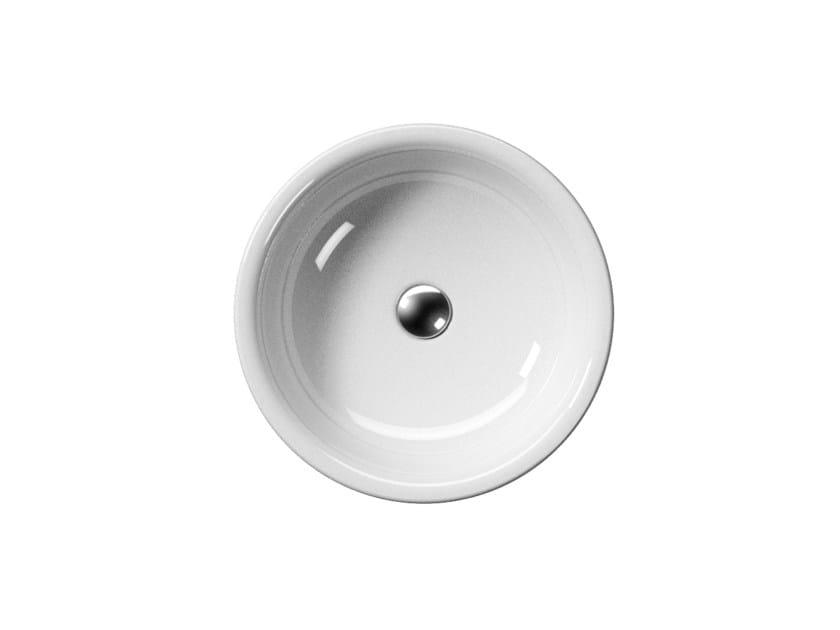 Countertop ceramic washbasin SAND 48/T   Washbasin - GSI ceramica