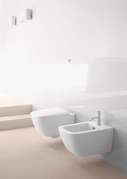 Wc sospeso in ceramica sand 55 wc sospeso gsi ceramica for Gsi sanitari