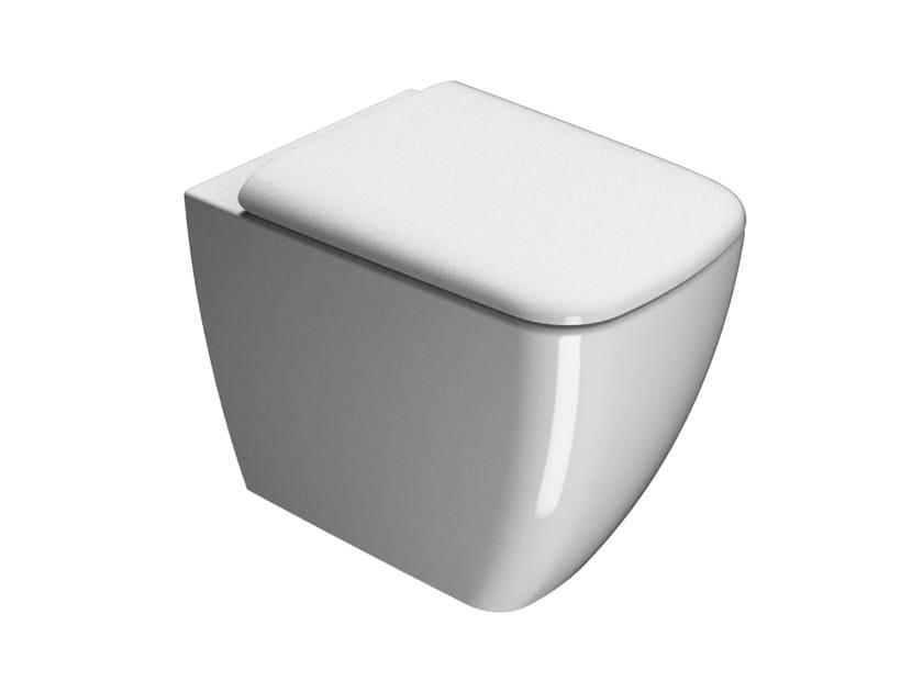 Ceramic toilet SAND 55 | Toilet by GSI ceramica