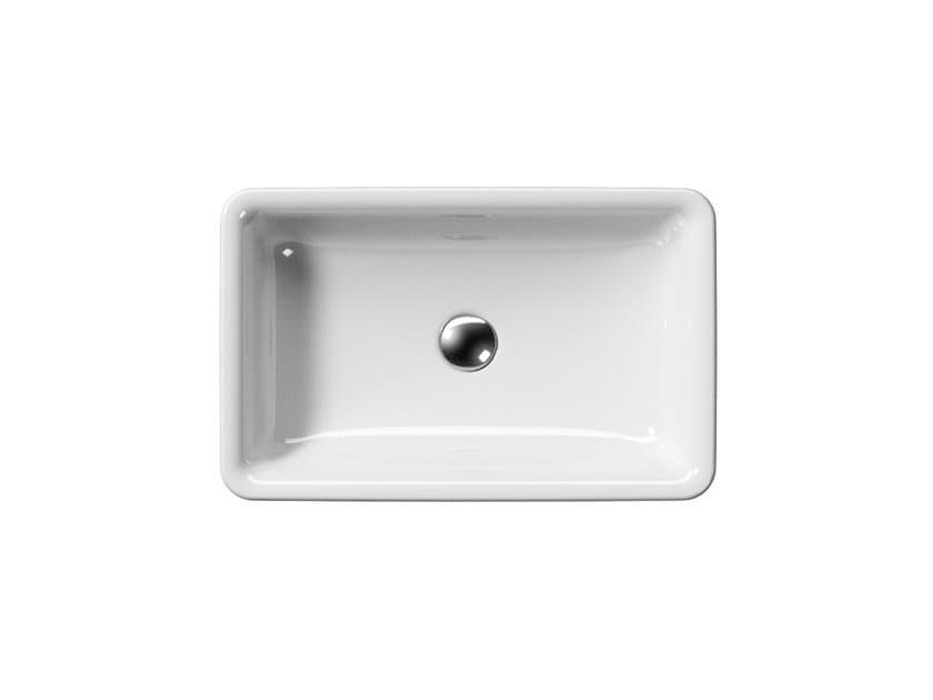 Countertop ceramic washbasin SAND 60/T | Washbasin - GSI ceramica