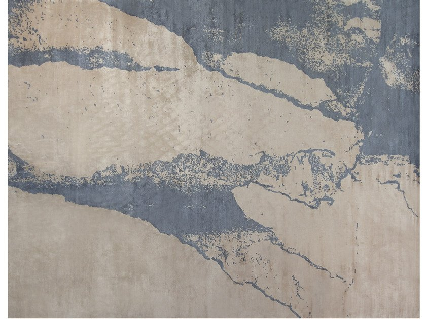 Handmade rug SAND LINEN - EDITION BOUGAINVILLE