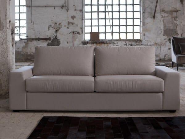 3 seater sofa with removable cover SANDER | 3 seater sofa - Domingo Salotti