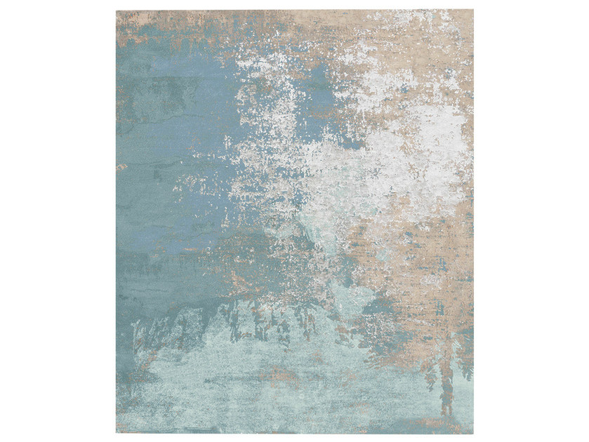 Handmade rug SANDREDA LAKE DIAMOND DUST - HENZEL STUDIO