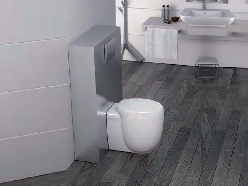 Aluminium sanitary module SANIDESIGN Large by Sanitrit