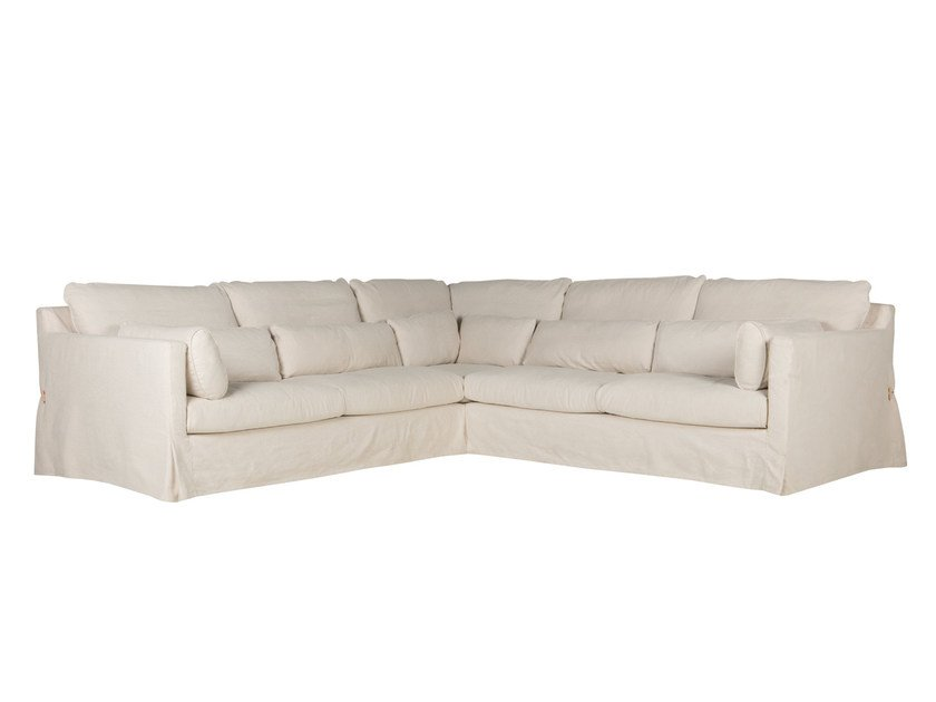 Corner sectional 4 seater fabric sofa SARA | 4 seater sofa by SITS
