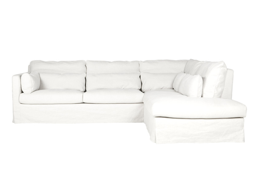 5 seater corner sectional fabric sofa SARA | 5 seater sofa - SITS