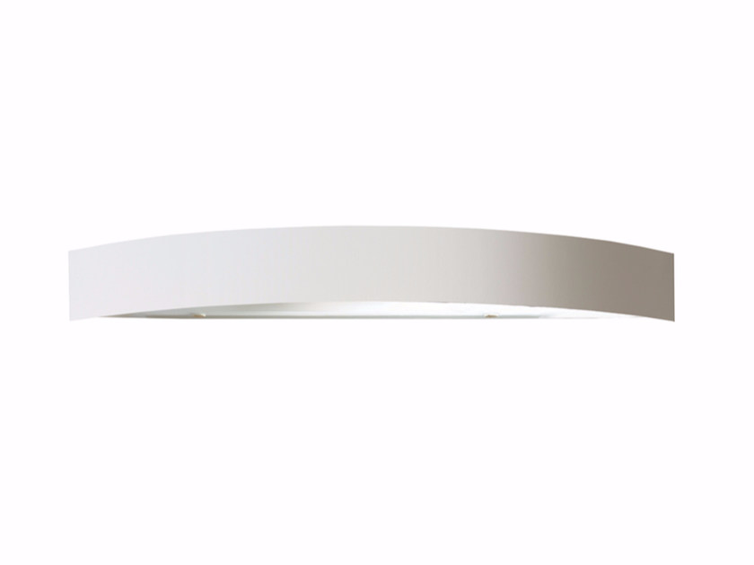 Direct-indirect light powder coated steel wall light SARA | Wall light by Gibas