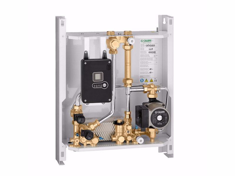 Medium temperature heat interface unit SATK202 - CALEFFI
