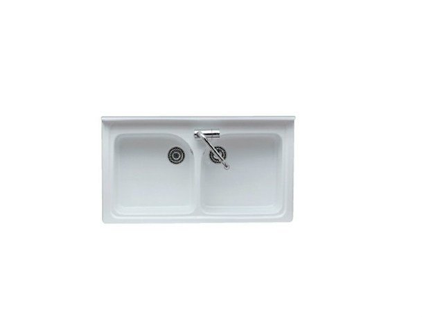 2 bowl built-in sink SATURNO - GALASSIA