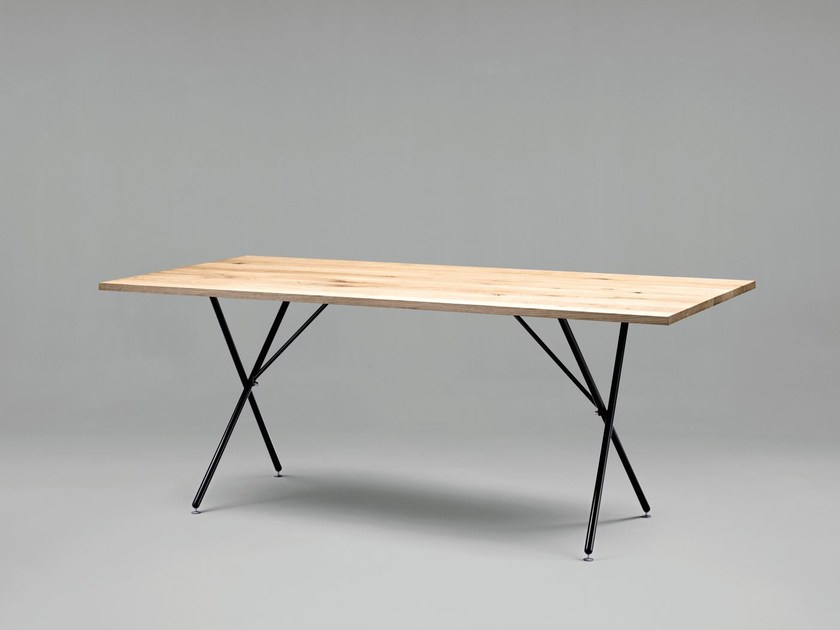 Rectangular wooden table SC32 | Wooden table - Janua