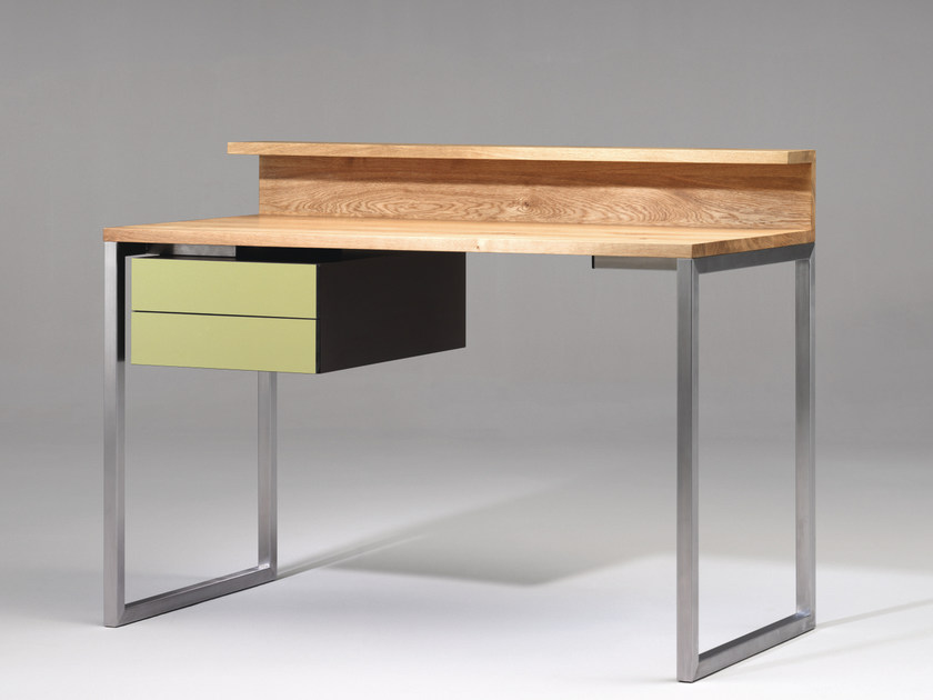 Wooden writing desk with drawers SC06 | Wooden writing desk - Janua