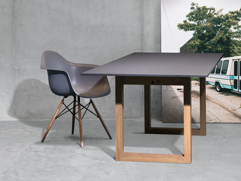 Rectangular HPL dining table SC25 | HPL table - Janua