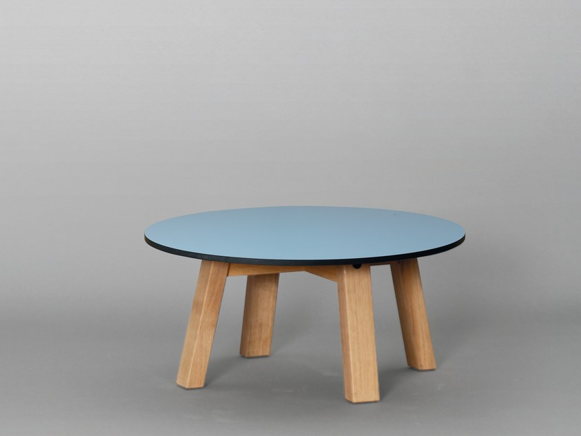 Round HPL coffee table SC51 | HPL coffee table - Janua