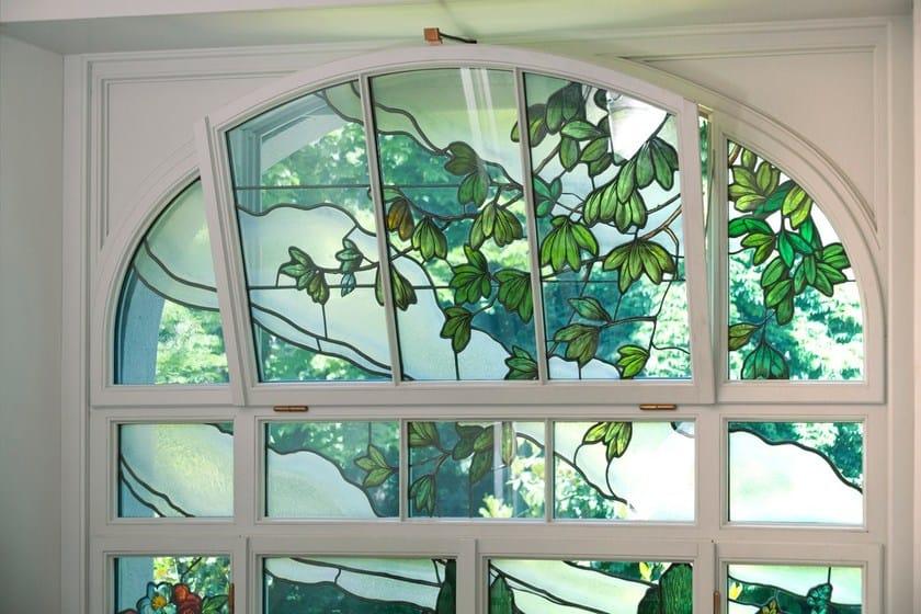 Finestra a taglio termico in legno sc80 100 finestra a vasistas capoferri serramenti - Finestra a vasistas ...