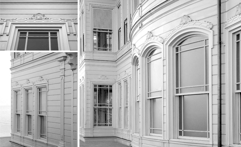 Finestra a taglio termico in legno sc80 100 finestra a ghigliottina capoferri serramenti - Finestre a ghigliottina ...
