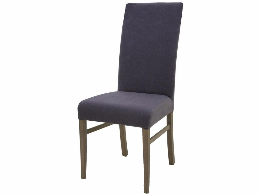 Upholstered high-back fabric chair SCALA SP HB - Z-Editions