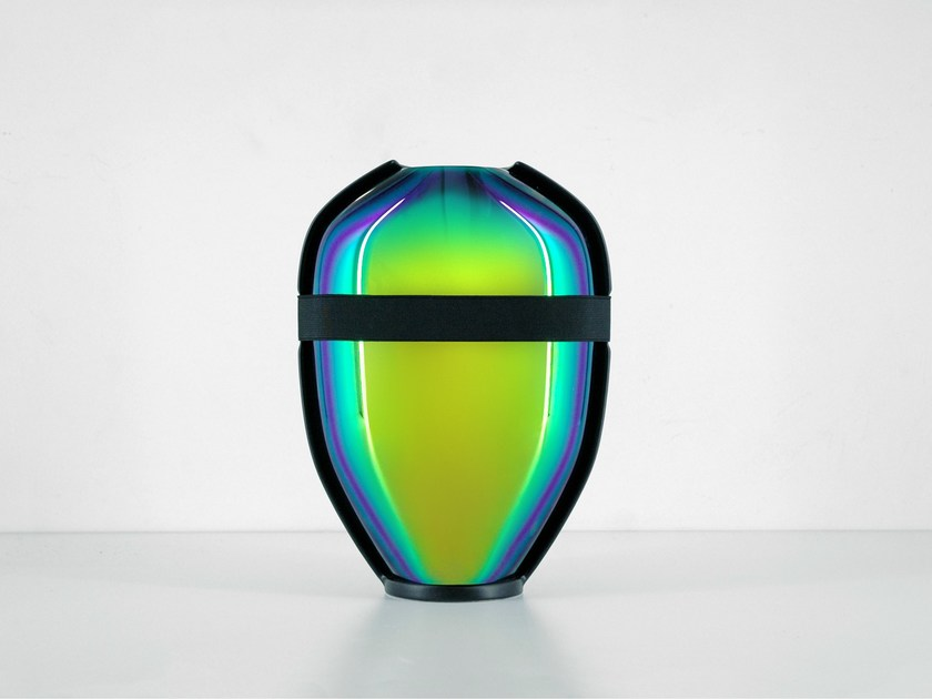Contemporary style ceramic vase SCARABEE - Moustache