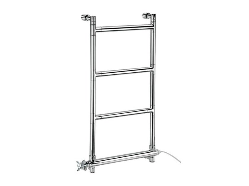 Chrome vertical wall-mounted towel warmer SCCA13B | Towel warmer - Fir Italia