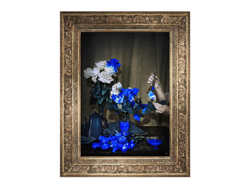 Canvas print SCENT OF COBALT - Mineheart