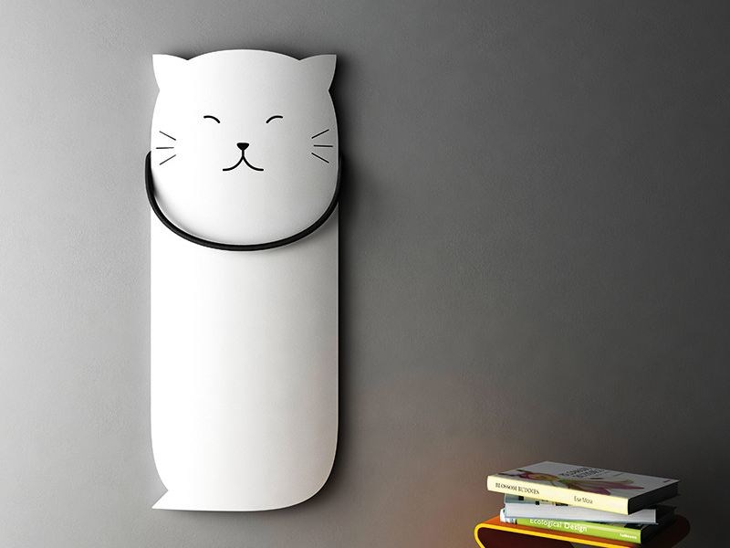 Wall-mounted aluminium radiator SCHEMA CAT - RIDEA
