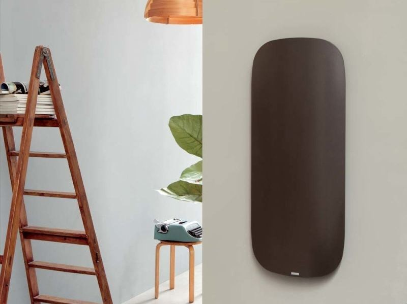 Wall-mounted aluminium radiator SCHEMA PLAIN - RIDEA