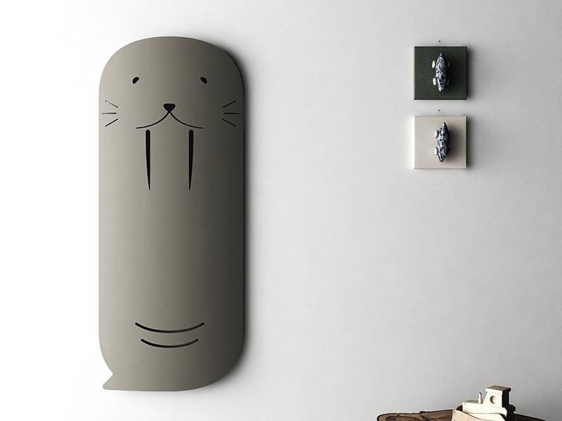 Wall-mounted aluminium radiator SCHEMA WOLLY - RIDEA