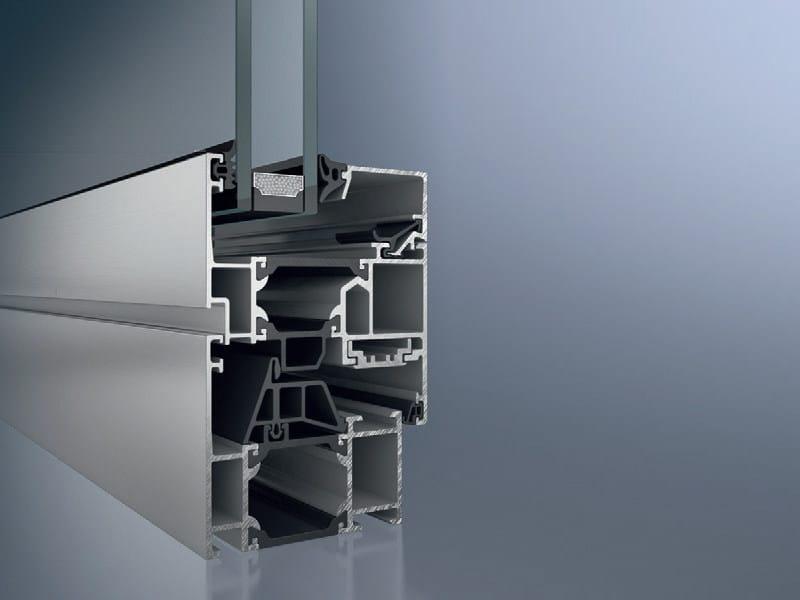Aluminium thermal break window Schüco AWS 65 - SCHÜCO INTERNATIONAL ITALIA