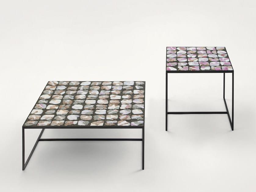 Low Square Coffee Table Sciara By Paola Lenti Design Marella Ferrera