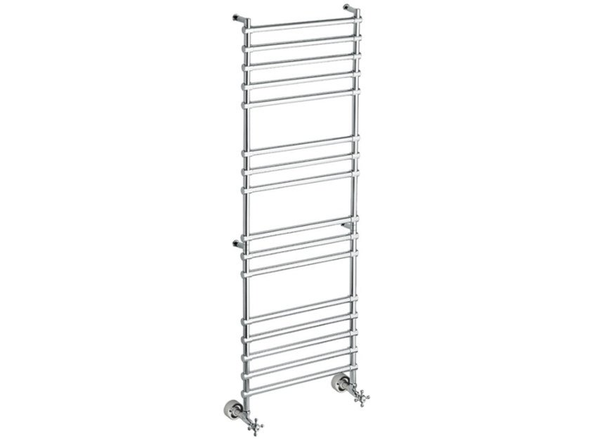 Chrome vertical wall-mounted towel warmer SCME02A | Towel warmer by Fir Italia