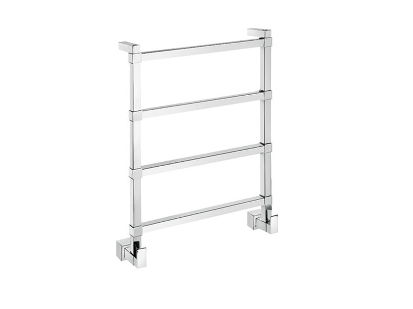 Chrome vertical wall-mounted towel warmer SCPL02C | Towel warmer - Fir Italia