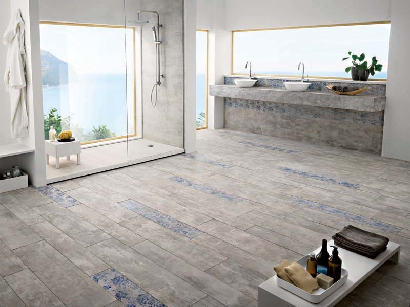 Porcelain stoneware wall/floor tiles with wood effect SEASIDE NASSAU by La Fabbrica