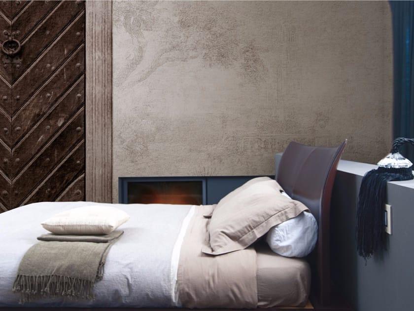 Panoramic landscape wallpaper SECRET DOOR - Inkiostro Bianco