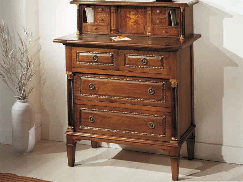 Solid wood secretary desk GALILEO | Secretary desk by Arvestyle