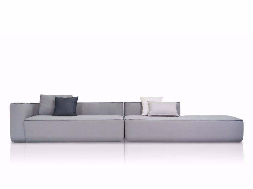 Sectional fabric sofa PLUMP | Sectional sofa by EXPORMIM