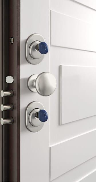 Porta d 39 ingresso blindata laccata secur bertolotto porte - Maniglia porta ingresso ...