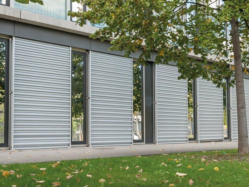 Tapparella blindata in alluminio secure stobag - Frangisole esterni per finestre ...