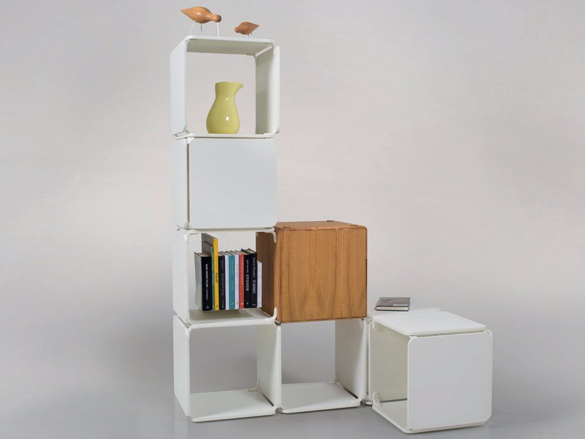 Open sectional modular bookcase Ope Select™ by Ope