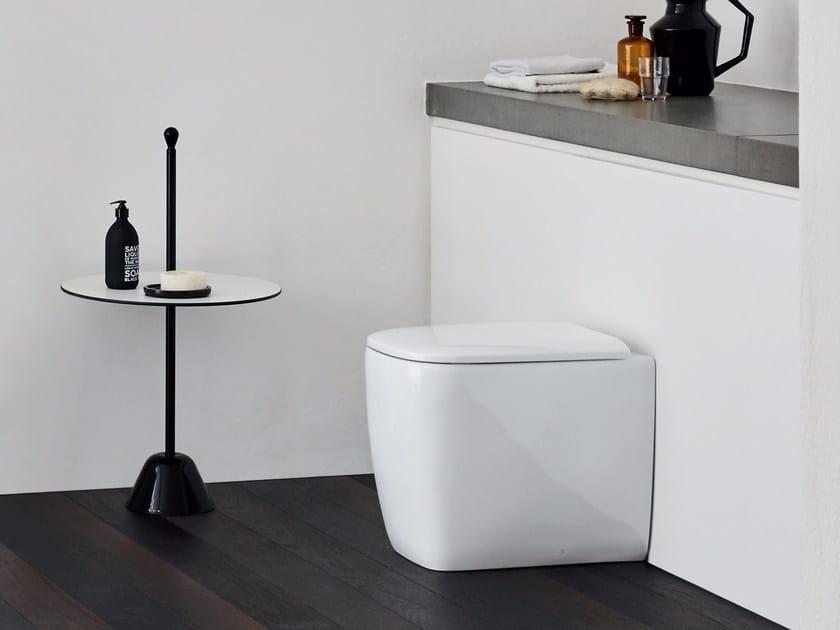 Floor mounted ceramic toilet SEMPLICE   Floor mounted toilet by Nic Design