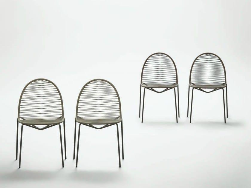 Synthetic fibre chair SENT-TO - da a