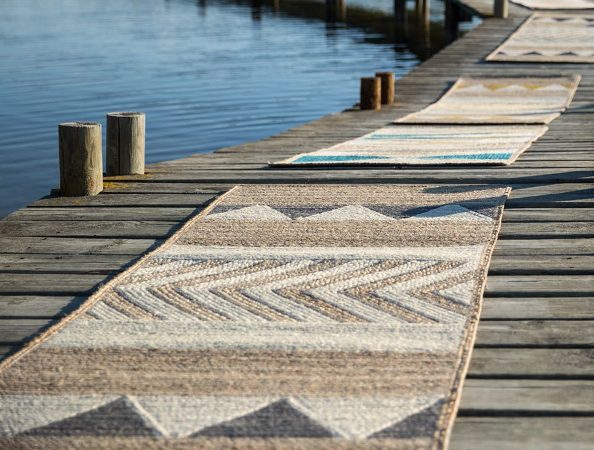 Handmade jute outdoor rugs SEQUOIA | Outdoor rugs - Élitis