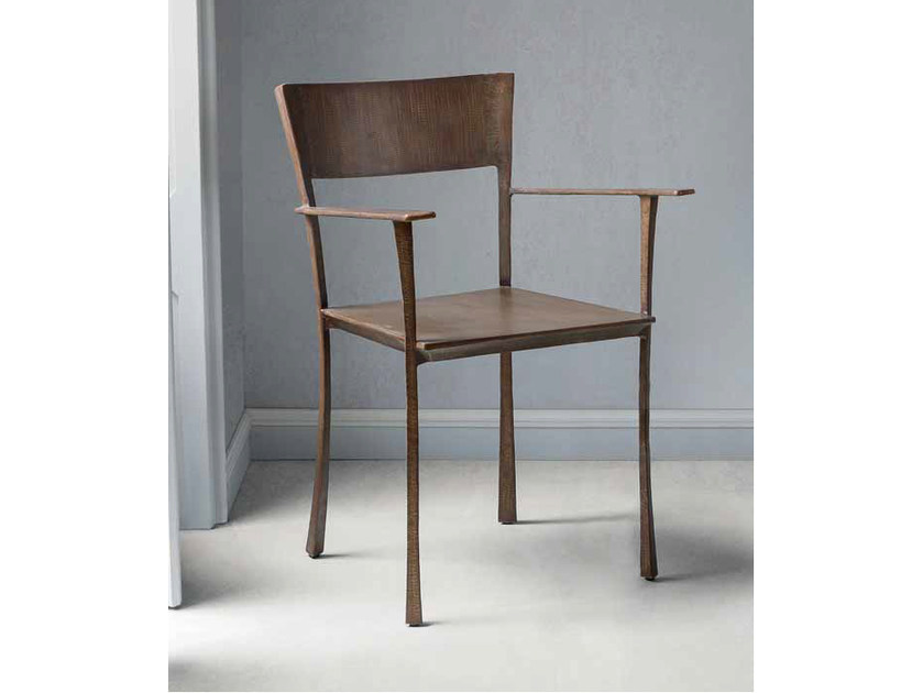 Iron chair with armrests SERENA | Chair with armrests by ELITE TO BE