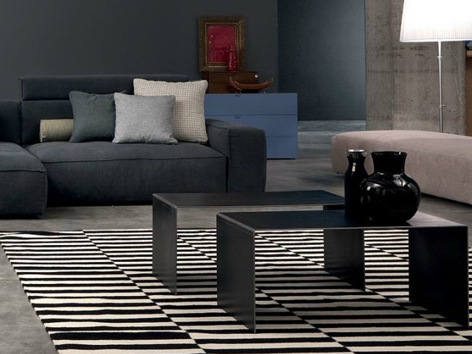 Metal coffee table / bedside table SET | Coffee table - Twils