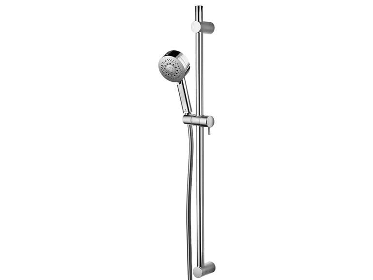 Extending shower wallbar with hand shower Set Kira Ø 100 - Bossini