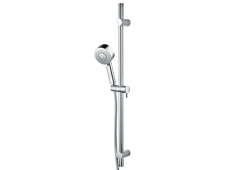 Extending shower wallbar with hand shower Set Kira Ø 100 - Bossini