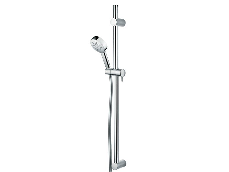 Extending shower wallbar with hand shower Set Kira/1 Ø 100 - Bossini