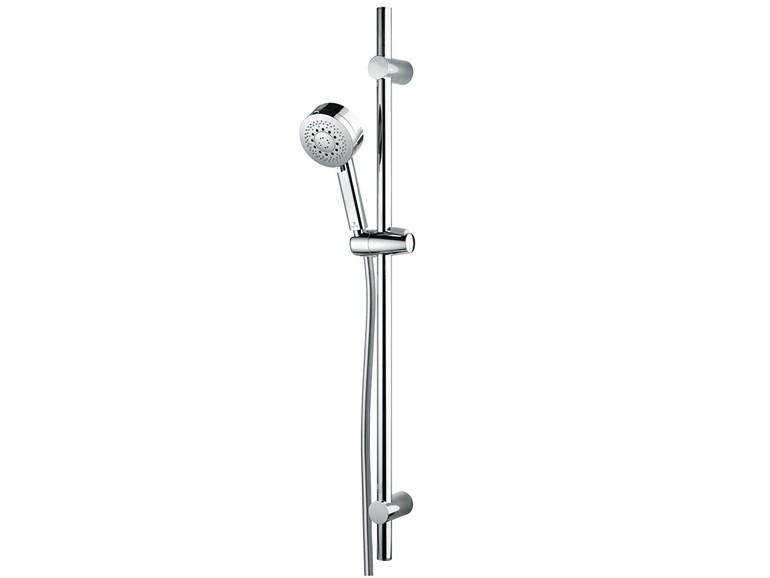 Extending shower wallbar with hand shower Set Kira/1 Ø 100 - Bossini