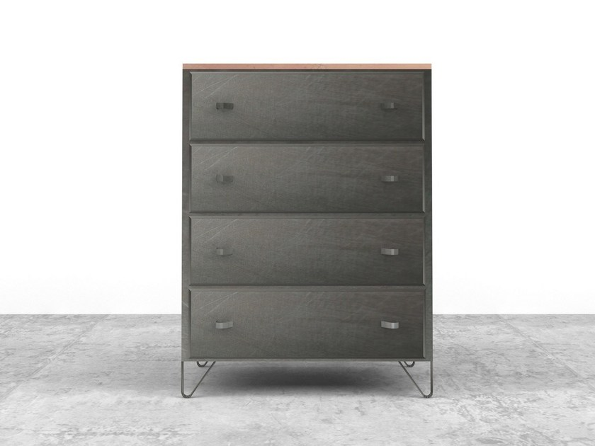 Free standing plate chest of drawers SETTIMA | Plate chest of drawers - Officine Tamborrino