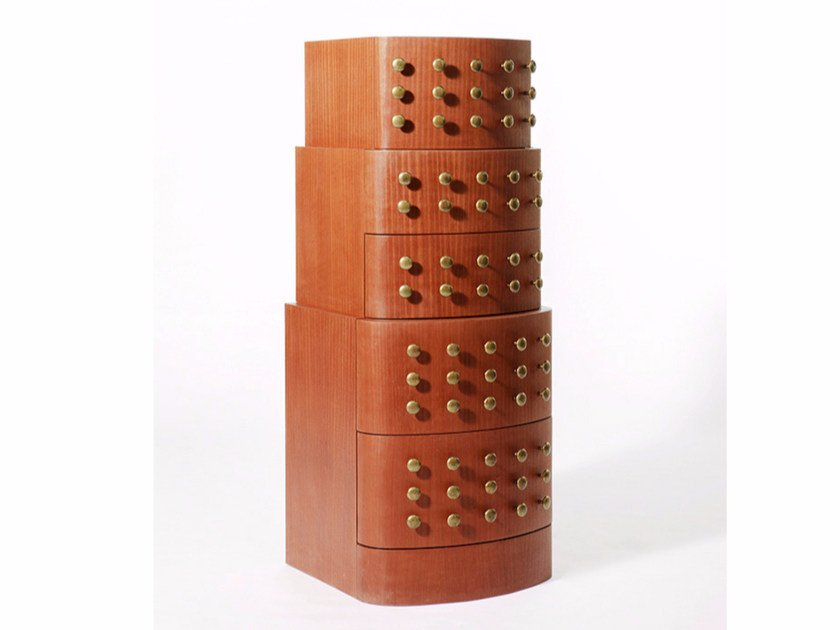 Mahogany chest of drawers SETTIMO - Paolo Castelli