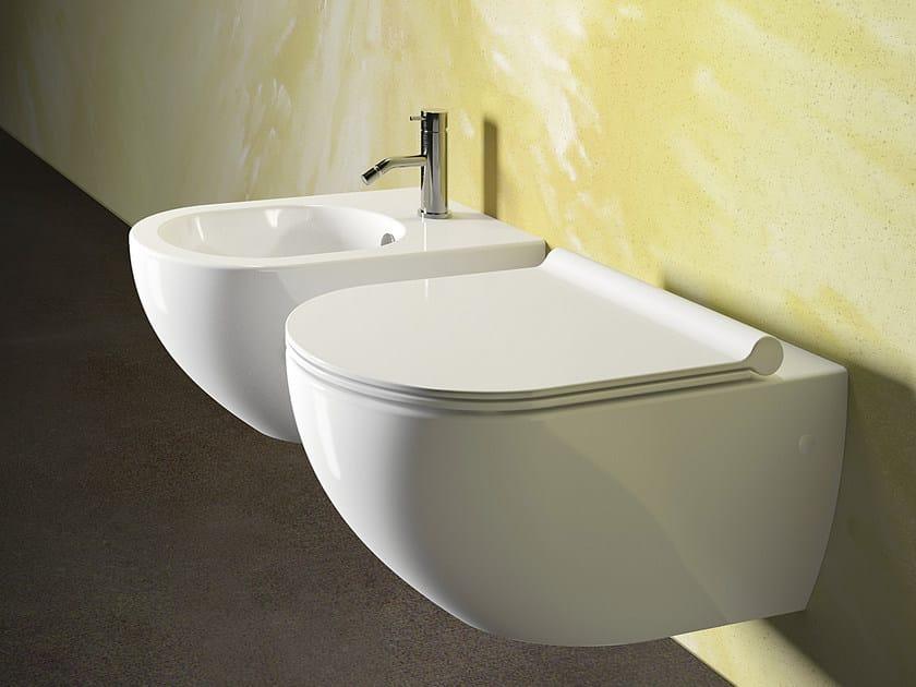 Wall-hung ceramic toilet SFERA 54 | Toilet - CERAMICA CATALANO