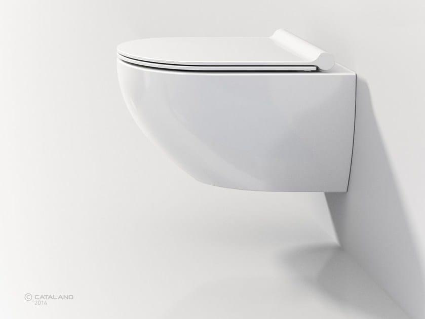 Wall-hung ceramic toilet SFERA NEWFLUSH 54 - CERAMICA CATALANO